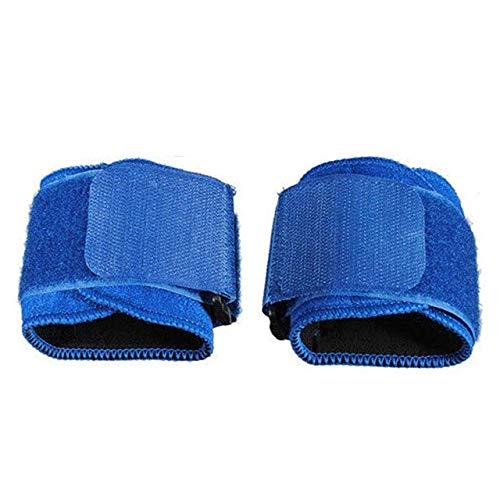 Gather together Blue 1pair Sport Wristband Wrist Bracer Wrap Gym Safety Protector Wrist Support Sports Adjustable Weight Lifting Elastic Band