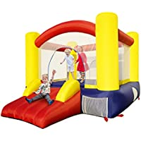 Fumile Inflatable Bounce Walls Jump House with Slide