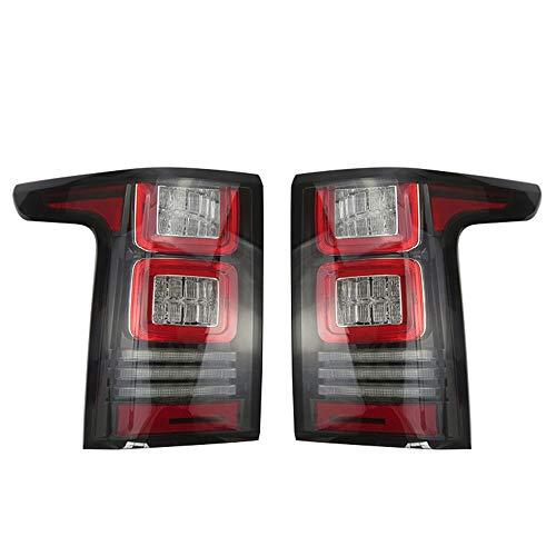 Paire de feux arrière de voiture Vogue pour feux de freinage arrière, feux d'avertissement de largeur de nuit, feux arrière de voiture 2013 2014, rouge