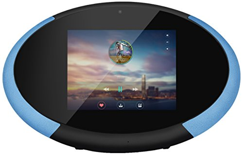 CocktailAudio Multiplay 8 tragbares Android 2.1 Streaming Soundsystem/Videoplayer/Tablet blau
