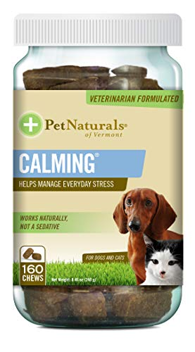 Pet Naturals of Vermont - Calming, Behavioral Support Supplement for Dogs and Cats