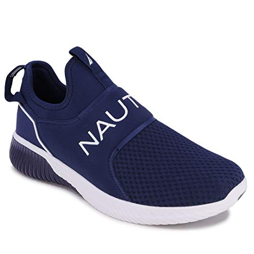 Nautica Men's Casual Fashion Sneakers-Walking Shoes-Lightweight Joggers-Coaster-Navy-11