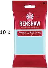 2.5 Kg Renshaw Ready Roll Icing Fondant Cake Regalice Sugarpaste DUCK EGG BLUE