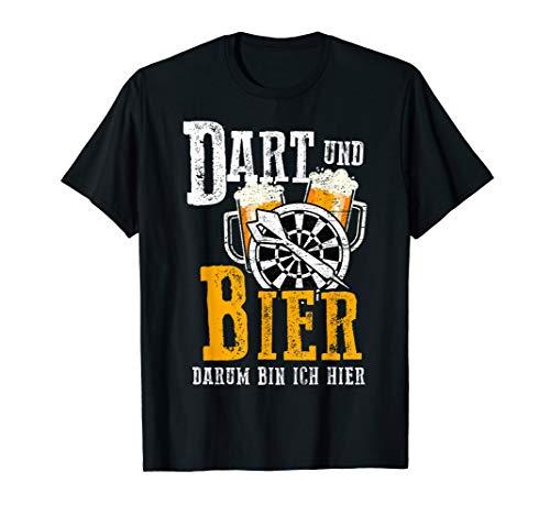 Dart Shirt Lustig Herren Darter Geschenk für Dartspieler T-Shirt