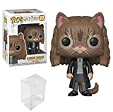 Funko POP! Harry Potter S5 - Hermione as Cat Bundled with PopShield Pop Box Protector