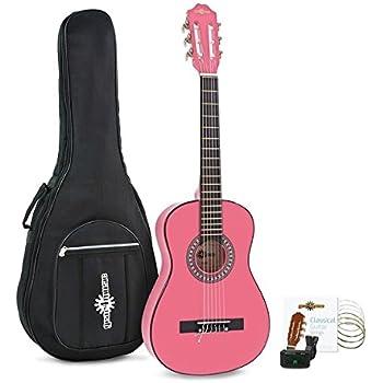 Paquete de Guitarra Española Junior de 1/2 de Gear4music Pink: Amazon.es: Instrumentos musicales