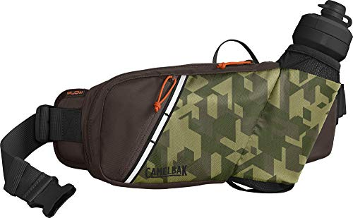CamelBak Podium Flow Hydration Belt 21 oz, Camelflage/Brown Seal
