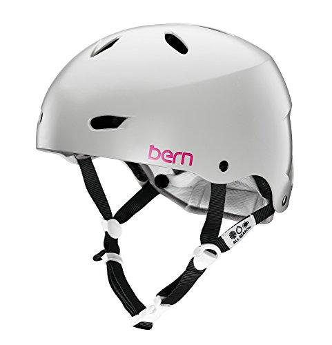 Bern Damen Helm Brighton EPS Thin Shell, matt grau, M/L