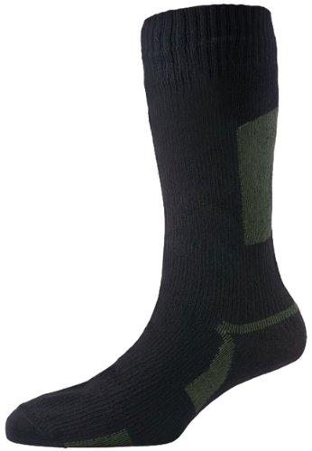 SealSkinz Walking Sock Black S, M, L, XL Noir - Noir