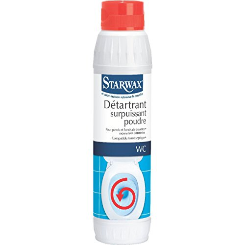 Starwax Détartrant WC surpuissant poudre - Le flacon de 1Kg