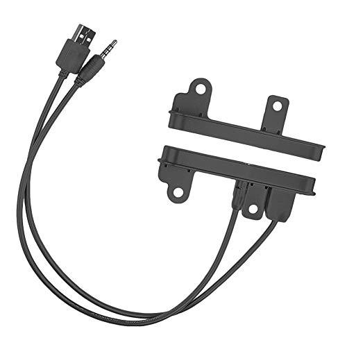 HIGHER MEN Car Accessories Parts Doble DIN Equipo de Tablero for vehículos Toyota Scion con AUX + Instalación del Puerto USB Radio el Ajuste Lateral Fascia Plate Frame