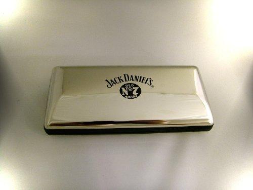 Jack Daniels gepolijst chroom glazen hoesje