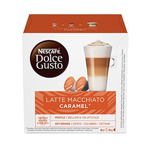 NESCAFÉ Dolce Gusto Café molido tueste Natural Leche