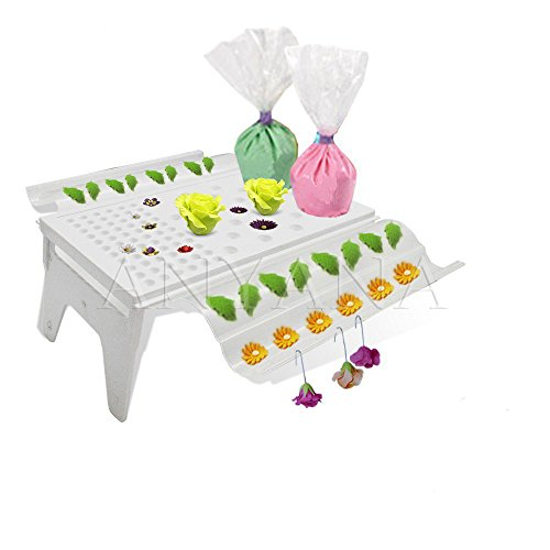 Anyana Cake Decorating Sugarcraft Fondant Detachable Gum Paste Flower Drying Rack Air Dry Stand Baking Tools Gum Paste Flower Rack