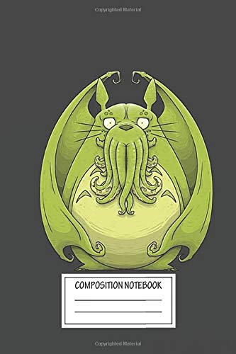 Notebook: Totoro Cthulhu , Journal for Writing, Size 6' x 9', 164 Pages