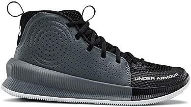 Under Armour Women's Jet 2019 Basketball Shoe, Black (001)/Halo Gray, 7