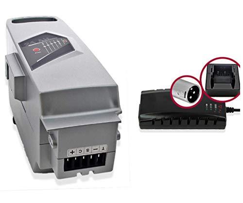 WSB Battery Juego de batería para Bicicleta eléctrica Panasonic 26 V 23...