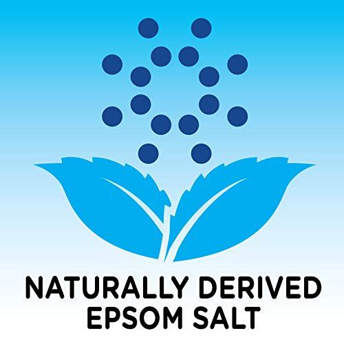 Amazon Brand - Solimo Epsom Salt Soaking Aid, Rosemary Mint Scent, 3 Pound