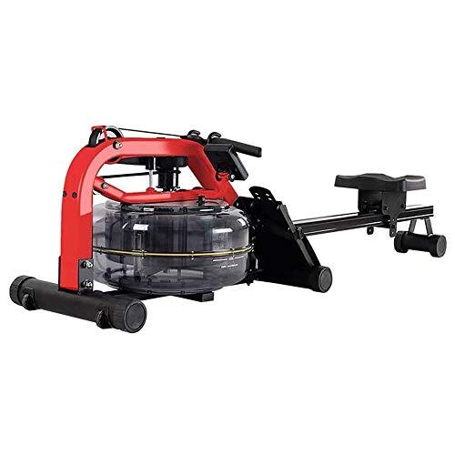 For Sale! CCDV Water Rower, Rowing Machine Water Trac Glider Machine Rower w/Digital Monitor,Glider ...