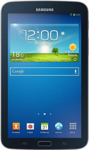 Samsung Galaxy Tab 3 7.0 - Tablet de 7' (WiFi, 8 GB, 1 GB de RAM, Android Jelly Bean 4.1.2, procesador Intel) Negro (Importado de Alemania)
