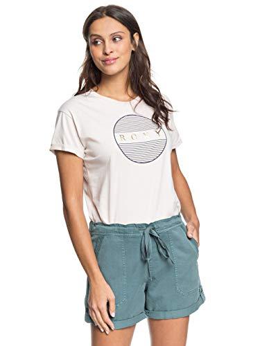 Roxy Damen Non-Denim Shorts Life is Sweeter - Shorts Für Frauen, North Atlantic, M, ERJNS03248