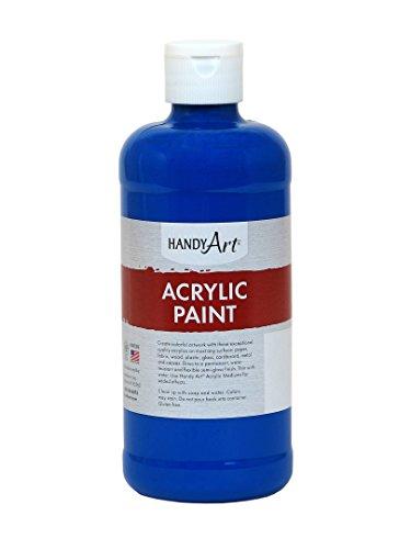 Handy Art Student Acrylic Paint, 16 ounce, Phthalo Blue, 16 Fl Oz
