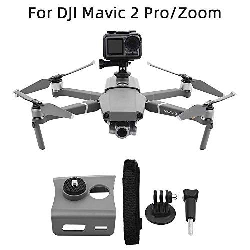 360 graden VR Panorama Action Multifunctionele Vaste Camera Houder voor DJI Mavic 2 Pro/Zoom Drone Bracket Top Video Mount Accessoires Reserveonderdelen