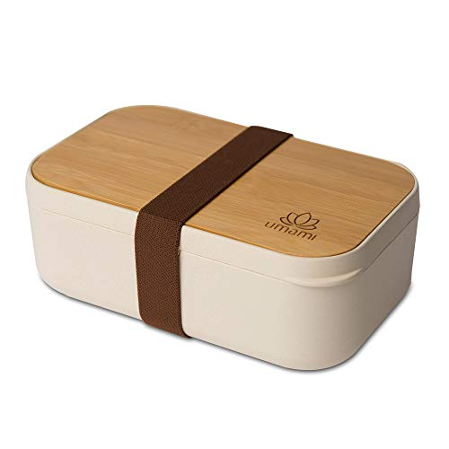 Umami Premium bento lunch box for adultschildren includes cutlery 4 pieces japanese hermetic box microwave dishwasher freezer safe BPA free