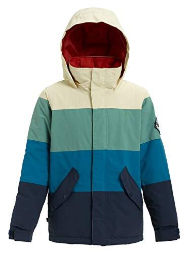 Burton Jungen Symbol Snowboard Jacke, Canvas/Trellis/Celestial, L