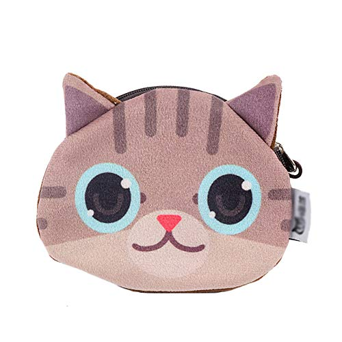 Qinlee Pompons Porte Cl/é Forme de Chat Bijou de Sac /à Main D/écor Pendentif Sac /à Main Cr/éatif Cadeau D/écoration Toucher Doux Garanti Rouge