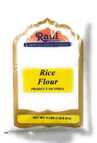 Rani Rice (White) Flour 4lbs (64oz) ~ All Natural   Gluten Free Ingredients   Vegan   NON-GMO   Indian Origin