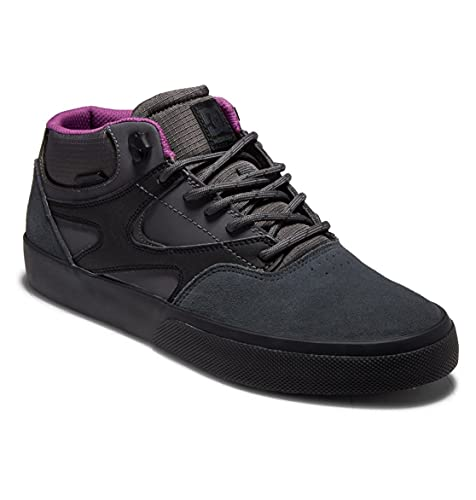 DC Shoes Kalis - Leather Mid-Top Winter Shoes for Men - Männer