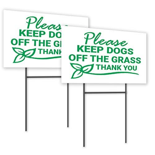 Keep Off Grass Sign 8