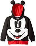 Disney Toddler Boys' Mickey Mouse Costume Hoodie, Black, 2T