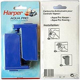 H.Koenig Filtre Aquapro Anti Calcaire pour Centrale Vapeur Bleu