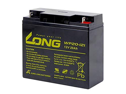 【初期補充電済み】Kung Long / WP20-12I (GP12170 PE12V17 NPH16-12T 12m17W HF17-12A 12SSP18互換) 12V用 サイクルバッテリー シールド型 MF