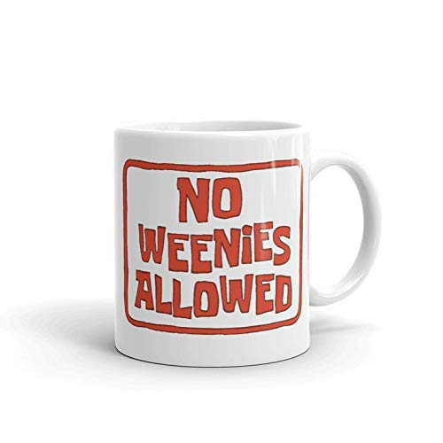 No se permiten Weenies Bob Esponja Película Dibujos animados Vajilla animada Barware Regalo divertido Tazas de café
