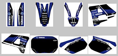Yamaha DT 125R - 1991-2003 Premium Factory DEKOR Decals Sticker Aufkleber KIT
