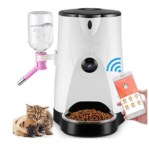 VIER Smart remote camera, hond kat bassin timing kat hond voedsel voeden machine voeding apparaat huisdier automatische feeder