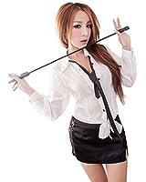 Lingeriecats Sexy Haughty Office Secretary Costume (White)