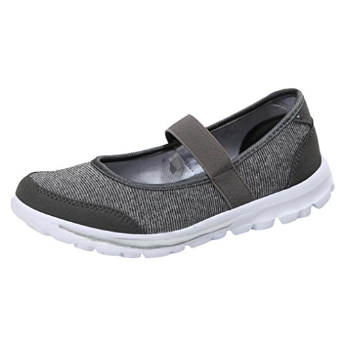 Zapatillas de Lona para Mujer Otoño 2018 Zapatos de Plano de Dama PAOLIAN Senderismo Casual Náuticos Talla Grande Cómodo Calzado de Trabajo Moda Señora Merceditas Suela Blanda