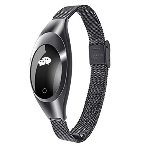 Chenang Intelligente Armbanduhr, Wasserdicht IP67 Smartwatch Fitness Uhr zur Herzfrequenz-und Fitnessaufzeichnung Blutdruckmesser und Fitness-Tracker