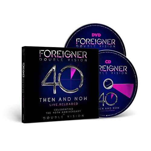 Foreigner - Double Vision: Then And Now (CD+DVD Digipak)