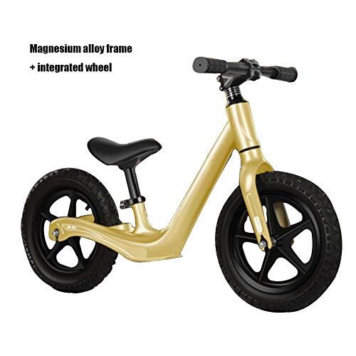 FCDWHJ Bicicleta de Equilibrio para Bebés,Marco de aleación de magnesio,Rueda integrada,Bicicleta Bebé...