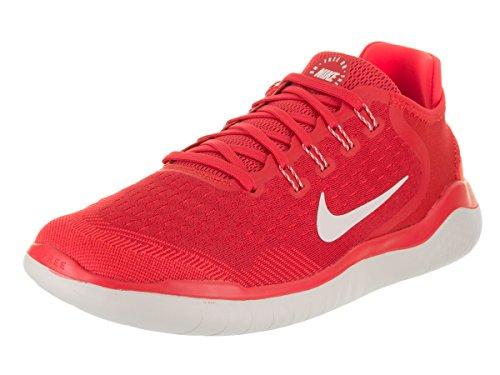 Nike Men's Rn 2018 Running Shoe (10, Speed Red/Vast Grey)