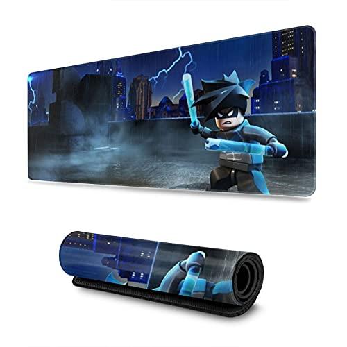 Le-go Batman s Hd s Game Mouse Pad antiscivolo base in gomma tastiera del computer Mouse Pad 31,5 x 30 cm