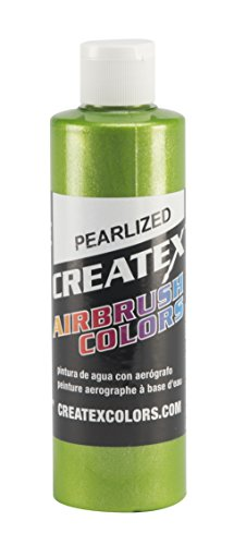 Createx Colors Paint for Airbrush, 8 oz, Pearl Lime Ice by Createx Colors