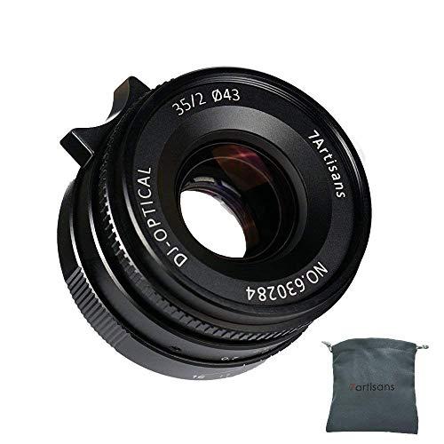 Lente Fija Leica M Mount de 35 mm F2.0 para cámaras Leica M como Leica M-M Leica M240 Leica M3 Leica M6 Leica M7 Leica M9 Leica M9p Leica M10p Leica M10 - Negro