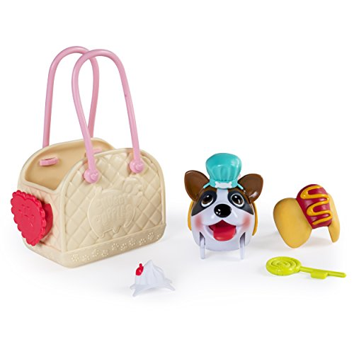 Chubby Puppies & Friends, Fashion Set with Carrier, Boxer