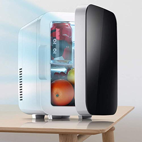 XKCQC 6 L car Mini Refrigerator, Cool and Warm Dual use, 12V Vehicle Voltage. Travel, self-Driving Tour, Camping, picnics The Best Choice for Summer
